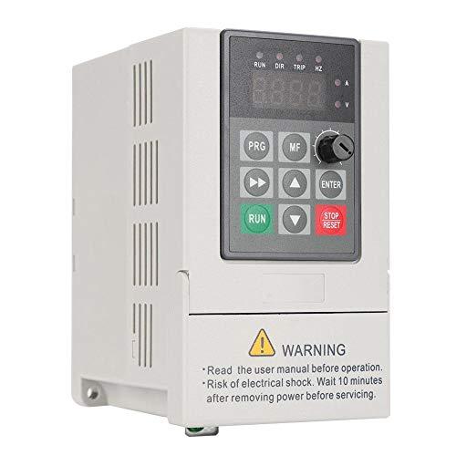 Taidda VFD-Frequenzumrichter, VFD-Frequenzumrichter einphasiger Eingang dreiphasiger Ausgang VFD-Frequenzumrichter 110 V 0 75 kW 7 A für die Wasserversorgung mit konstantem Druck
