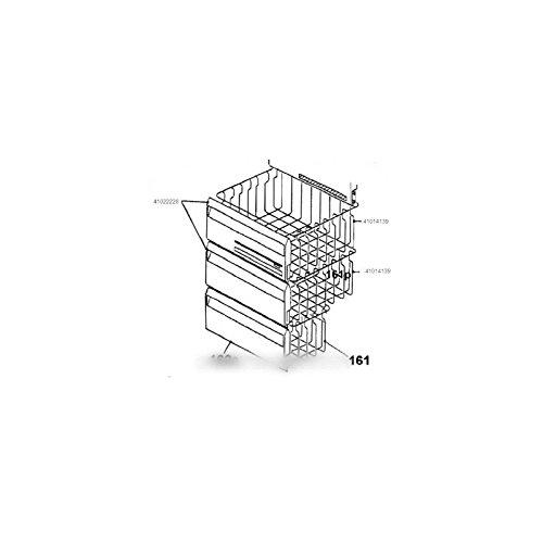 CANDY - facade de tiroir panier inferieur pour congélateur CANDY