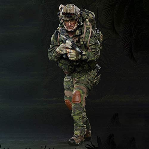 ZSMD 1/6 Scale Navy Seals Action Figure Model Toy, 12 Inch Movable Military Action Figure Play Set Soldier Figure Toy
