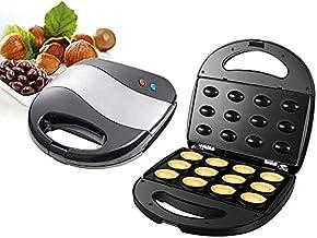 XINSTAR Mini machine à gâteau électrique en noyer - Outil de cuisson automatique pour noix - Accessoire de cuisine portabl...