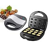 XINSTAR Máquina de nuez eléctrica para hacer tartas automáticas, herramienta de horneado para cocina, portátil para hacer pasteles de nuez y accesorios de cocina pequeños electrodomésticos de cocina