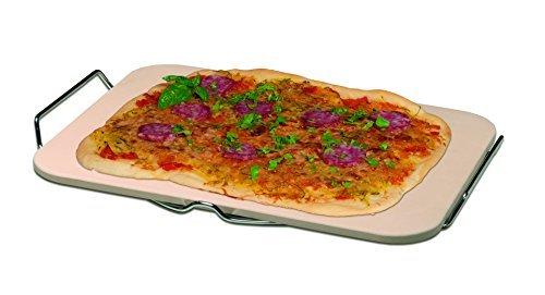My Home Piedra para Pizza con Soporte para Servir.