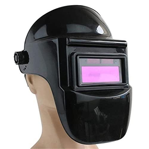 WJHYU Casco de Soldadura Auto Oscurecimiento Capucha con Rango de Sombra Ajustable 4/9-13 para Mig TIG Soldadora de Arco