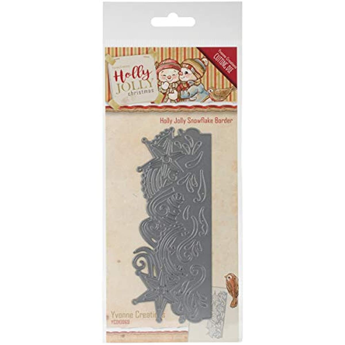 Find It Trading YCD10069 Yvonne Creations Holly Jolly Die