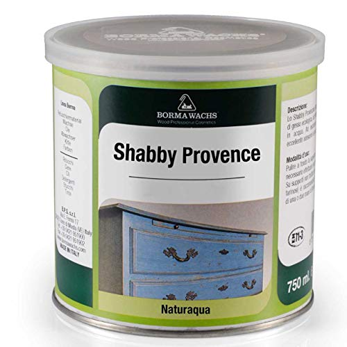 Peinture (750 ml) Shabby Chic pour meuble - Matte et de couleur craie - Avec Aspect vintage. , bleu