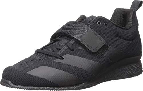 adidas Men's Adipower Weightlifting II Cross Trainer, Black/Black/Black, 4 UK