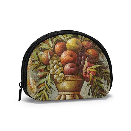 Mini-Aufbewahrungstasche, Muschel-Geldbörse, kleine Tasche, tragbare Brille, Obst-Waschbecken-Geldbörse, Schmucktasche, Kosmetiktasche