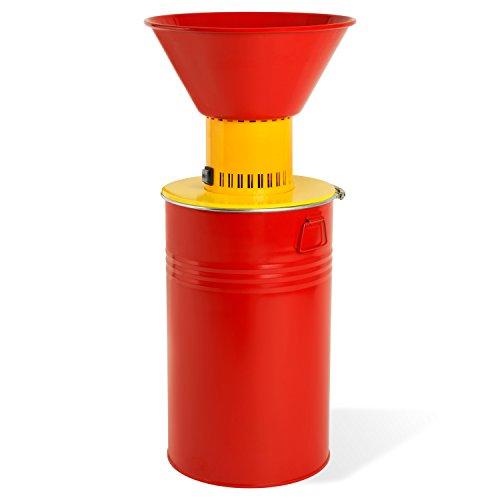 EBERTH Elektrische Getreidemühle (1100 Watt Elektro-Motor, 52 Liter Fassungsvermögen, inkl. 3 Siebe)