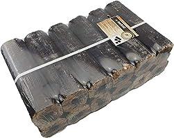 Moesta-BBQ 10123 – Briquettes en bois dur – Briquettes de hêtre pour plus de chaleur dans le barbecue au charbon de bois...