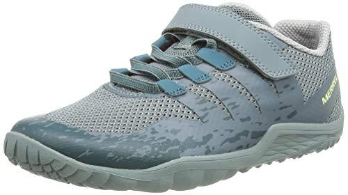 Merrell Trail Glove 5 A/c, Chaussures de Fitness Mixte Enfant, Gris (Trooper),...