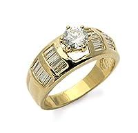 リオールのゴールデンスチールの女性用指輪、ゴールドメッキ、20、タラ。 9分の2629
