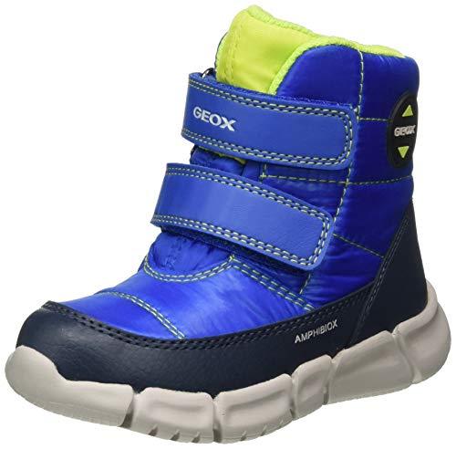 Geox Baby-Jungen B FLEXYPER Boy B ABX Snow Boot, Blue (Royal/Navy), 21 EU