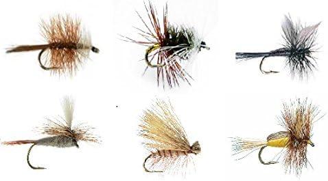 Feeder Gorgeous Creek Fly Fishing Dry Assortment Flies Patterns Detroit Mall 6 Reneg