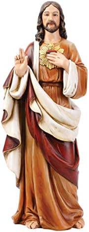 Joseph s Studio by Roman Sacred Heart of Jesus Figure for 24 Scale Renaissance Collection 24 product image