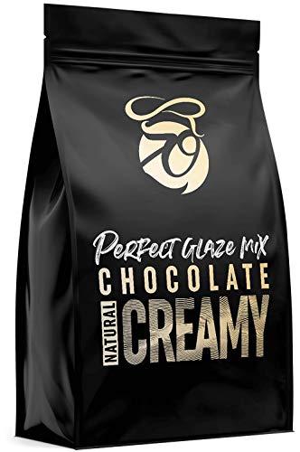 CAKEZO | PERFECT GLAZE Chocolate Mix CREAMY, Mirror Glaze – Torten-Spiegelglasur mit hochwertiger Schokolade 750g
