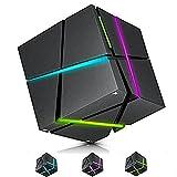 HaiMa Cube - Altavoz con Bluetooth, diseño de unicornio, color blanco
