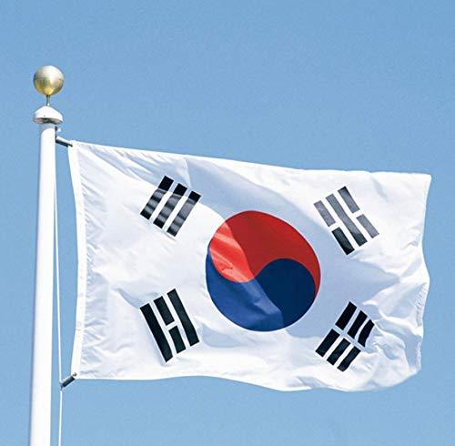 Vlag Zuid - 3x5 Zuid-Korea Koreaanse Vlag Banner Vlaggen - Zuid-Vlag Vietnam Koreaanse Zuid-Afrika Vlaggen Banners Accessoires Vlag Regenboog Zuid-Korea Klein Engeland Shirt Amerika Kazachstan Ja
