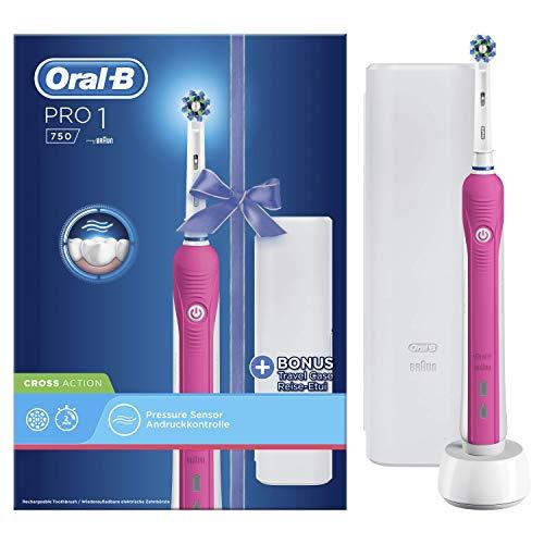 Pack con cepillo de dientes Oral-B PRO 750 CrossAction
