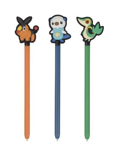 BD & A Bensussen Duits & Associates Pokemon Character Stylus SET 3DS balpen