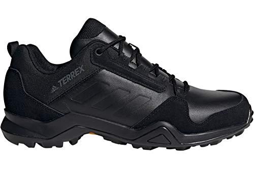 adidas Męskie półbuty trekkingowe Terrex Ax3 Lea 50,7 EU, czarny - czarny - 39 1/3 EU