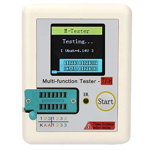 Probador de transistores Tft, Probador de transistores firmes, Autoprueba de calibración automática duradera Uso profesional Uso general para equipos de trabajo pesado