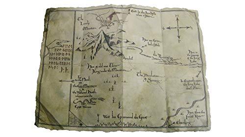 Der Hobbit: Eine unerwartete Reise: Thorins MAP - Kunstdruck