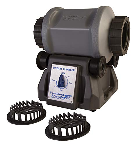 Frankford Arsenal Platinum Series Rotary Tumbler for Cleaning and Polishing Brass for Reloading