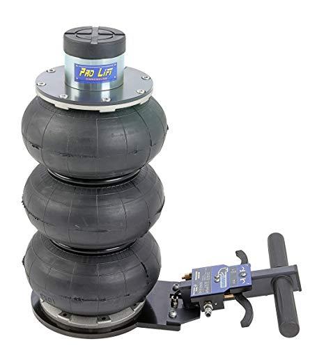 Pro-Lift-Werkzeuge Rangierwagenheber pneumatisch 2t drei Luftkissen 200-560 mm Pneumatikantrieb Werkstatt 2000kg professionell Druckluftheber LKW PKW