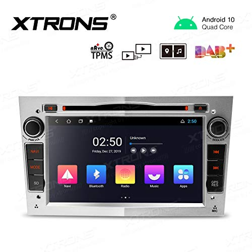 """Best Deals! XTRONS Android 10.0 Car Stereo Radio DVD Player 7"""" Touch Screen GPS Navigation 2K Vide..."""