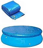 LXTOPN Cubierta de piscina redonda, lona de protección...