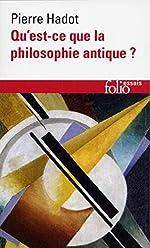 Qu'est-ce que la philosophie antique? de Pierre Hadot