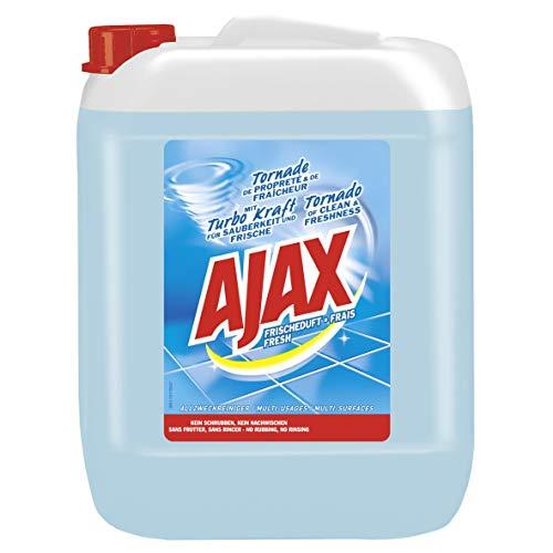 Ajax Allzweckreiniger Frischeduft 10l, Haushaltsreiniger für Sauberkeit & Frische, im praktischen Kanister