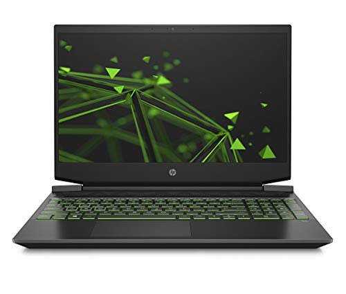 HP Pavilion 15-ec1206ng Schwarz Notebook 39,6 cm (15.6 Zoll) 1920 x 1080 Pixel AMD Ryzen 5 8 GB DDR4-SDRAM 512 GB SSD NVIDIA GeForce GTX 1650 Ti Wi-Fi 5 (802.11ac) Windows 10 Home