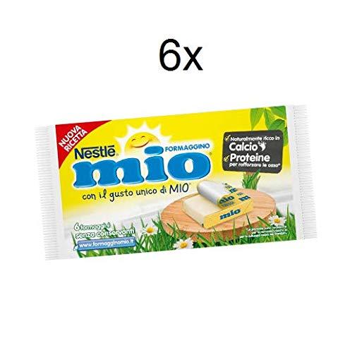 6x Nestlè Formaggino Mio Classico glutenfrei Käse Frischkäse reich an Kalzium 125g