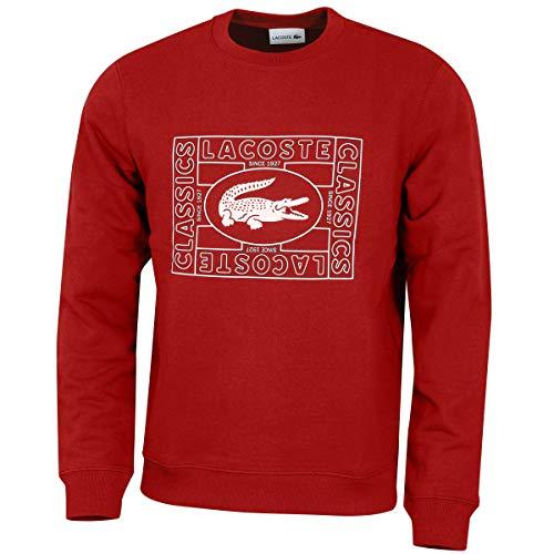 Lacoste Herren Sweatshirt rot (74) 5