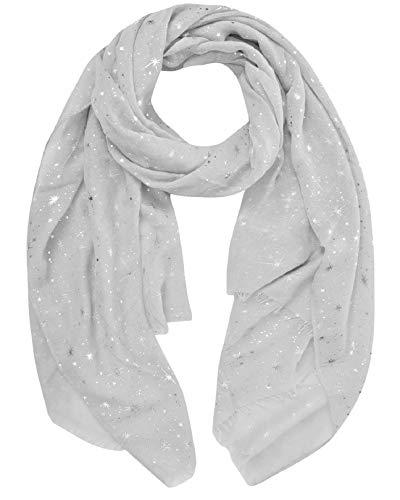 evening star sparkle scarves for