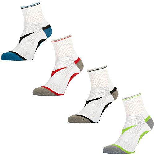 GEWO Socke Step Flex Größe 45-47, weiß/blau