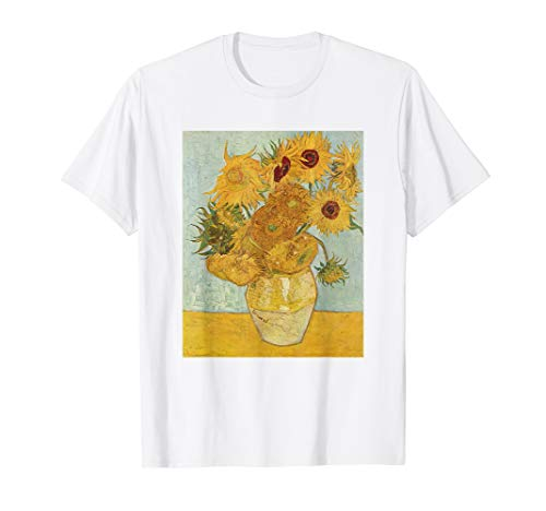 Vincent Van Gogh - Sunflowers - T Shirt Womens Girls Shirt
