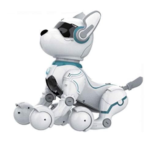 YXDS Juguete para niños, simulación, Control Remoto, Robot Inteligente, Perro, Cachorros de Carga, Caminar, Caminar, Hablar, Cantar, Juguetes para niños, niños y niñas