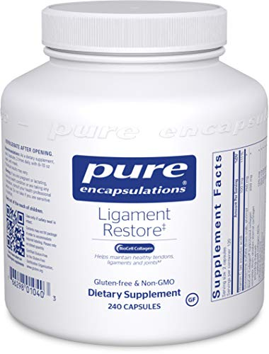 Pure Encapsulations - Ligament Restore - Dietary Supplement Helps Maintain Healthy Tendons, Ligaments and Joints - 240 Capsules