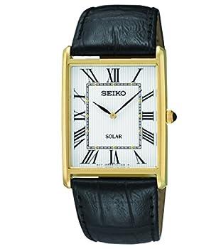 Seiko Men s SUP880 Analog Display Japanese Quartz Black Watch