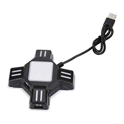 Oumij1 Adattatore USB Convertitore Gamepad, Convertitore Adattatore Controller USB per PS4 / PS4 PRO / PS4 Slim/XBOXOne/XBOXOne S/XBOXOne X / PS3 / PS3 Slim/Switch for Mouse And Keyboard Converter