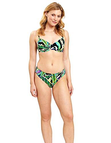Feraud 3205020-16072 Women's Jungle Green Non-Padded Underwired Bikini Set 42 - B Cup