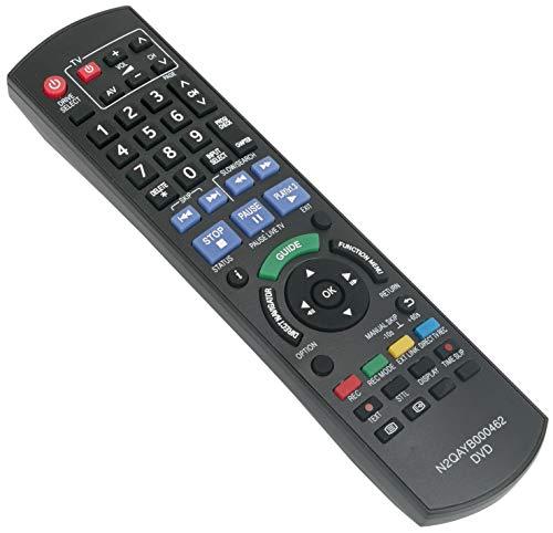 ALLIMITY N2QAYB000462 Fernbedienung Ersetzen für Panasonic DVD Recorder DMR-EX72S DMR-EX72SEGS DMR-EX769EB DMR-EX769EF DMR-EX773 DMR-EX773EBK DMR-EX79 DMR-EX83 DMR-EX83EB