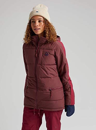 Burton Damen Skijacke Keelan Port Royal/Spiced Plum, Größe M, Rosa