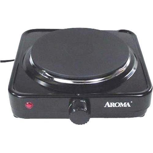 Aroma Housewares AHP-303/CHP-303 Single Hot Plate, Black by Aroma...