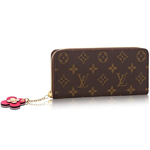 Louis Vuitton Monogram Canvas Wallet Clemence Article: M64201 Monogram Made in France