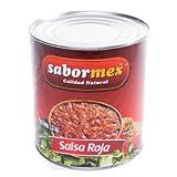 SABORMEX Salsa Mexicana Roja 2,8 kg Salsa tpica de la Comida Mexicana
