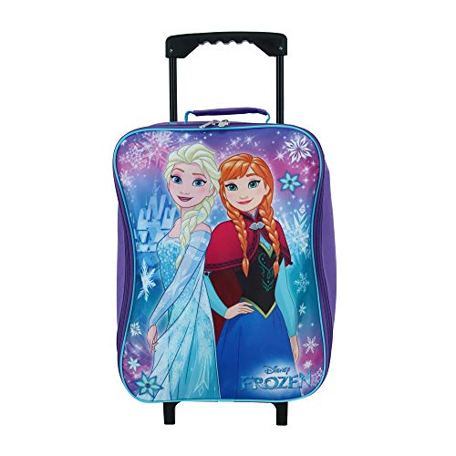 Frozen Elsa & Anna 15' Collapsible Wheeled Pilot Case - Rolling Luggage