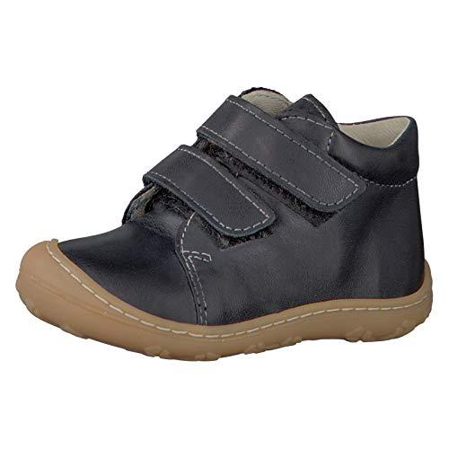 RICOSTA Pepino by Mixte Enfant Bottes & Boots Chrisy, Bottes pour Enfants, Fille,Garcon Bottes,Bottes à Velcro,Cuir,See,22 EU / 5.5 UK